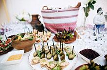 Festliche Speisen vorsichtig auswählen – Hochzeitsfeier interessante Ideen