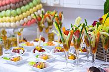 Leichtes Mittagessen an der Hochzeit – Hochzeitsfeier interessante Ideen