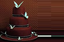 Vierstöckige Schokoladentorte Rezepte – Hochzeitstorte Ideen